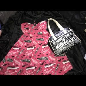 New with tag death cab dress and bowler bundle